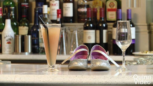 Shoes on Bar