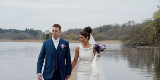 wedding videos at kilronan castle